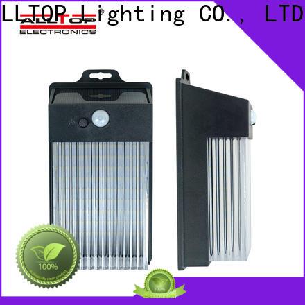 ALLTOP solar wall light with motion sensor supplier for street lighting