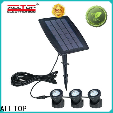 ALLTOP solar powered driveway post lights factory for decoration