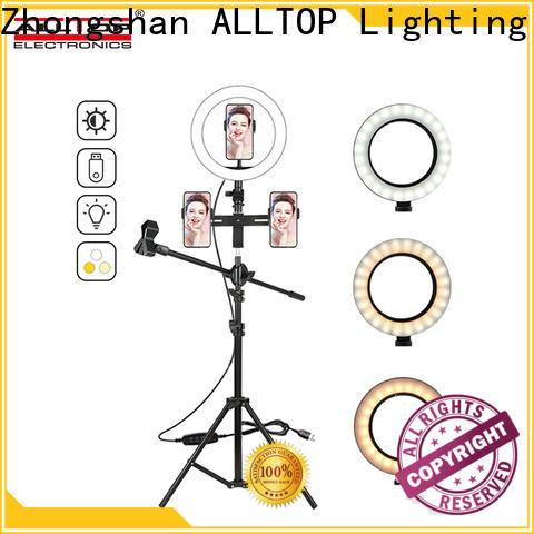 ALLTOP led ring light wholesale for camping