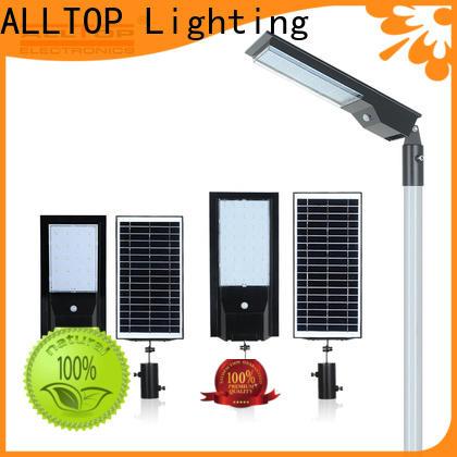 ALLTOP 12w solar street light wholesale for lamp