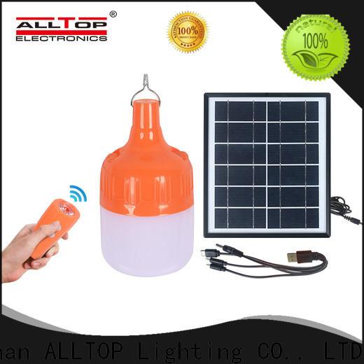 ALLTOP outdoor outdoor solar sconce wall light supplier for street lighting