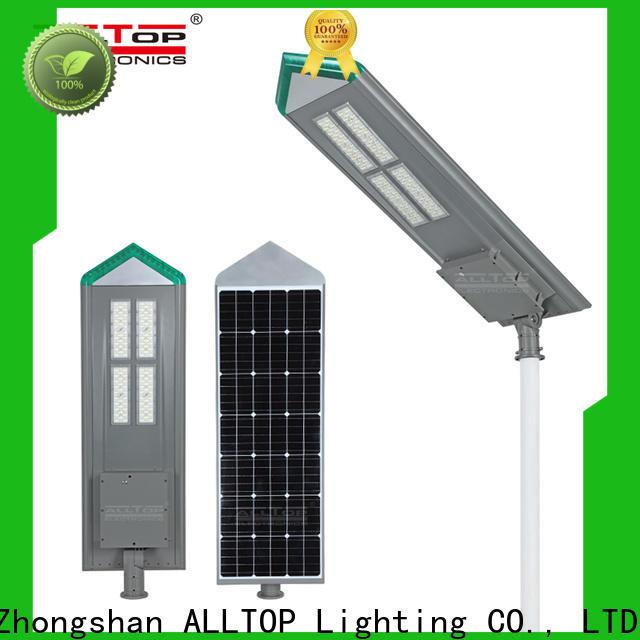 ALLTOP energy-saving street solar led lights manufacturer for garden