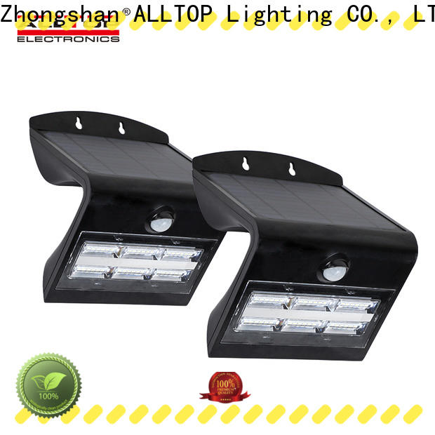 ALLTOP high quality solar wall sensor light with good price highway lighting