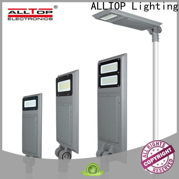 ALLTOP solar panel street lights high-end manufacturer