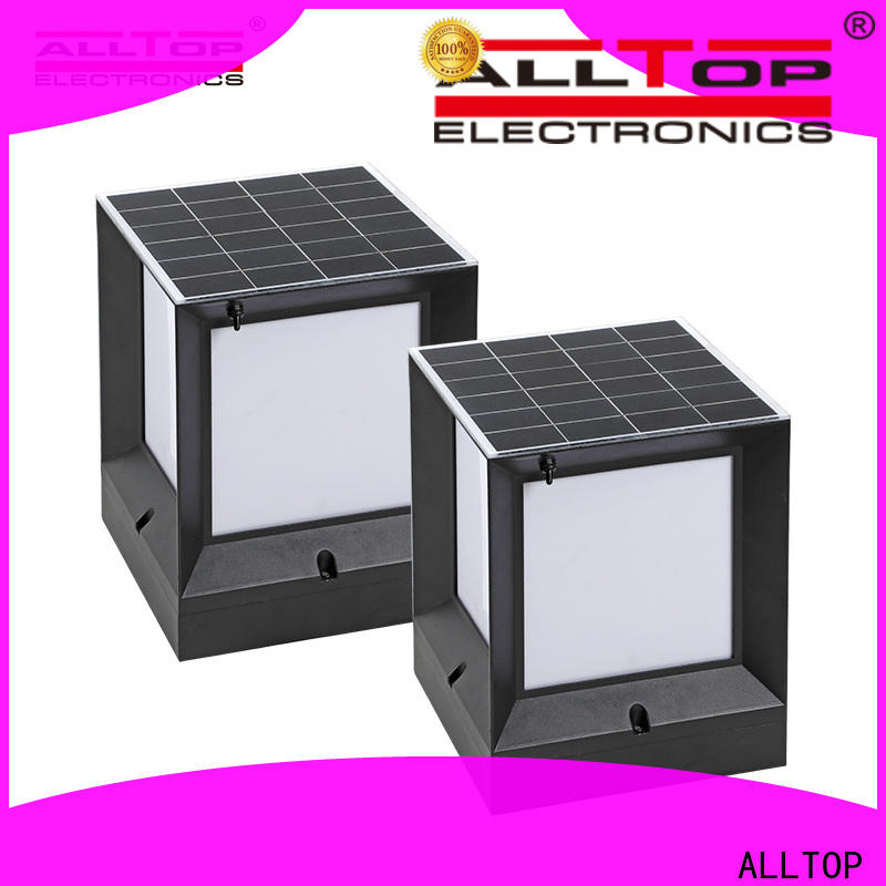 ALLTOP solar powered led landscape lights