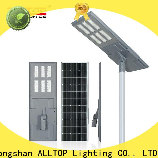 ALLTOP solar street lighting ltd best quality wholesale