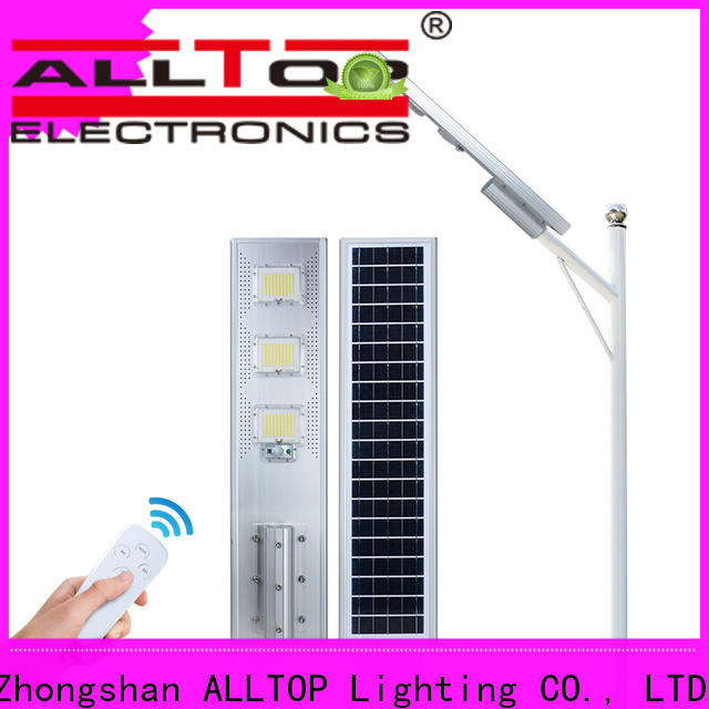 waterproof solar panel street lights functional supplier