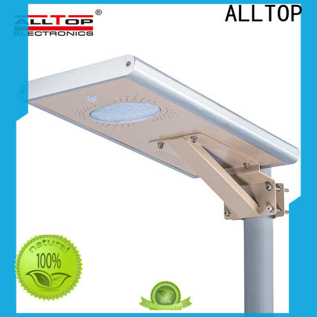 ALLTOP outdoor solar street lamps best quality manufacturer