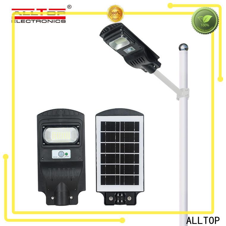 ALLTOP waterproof decorative solar street lights high-end manufacturer