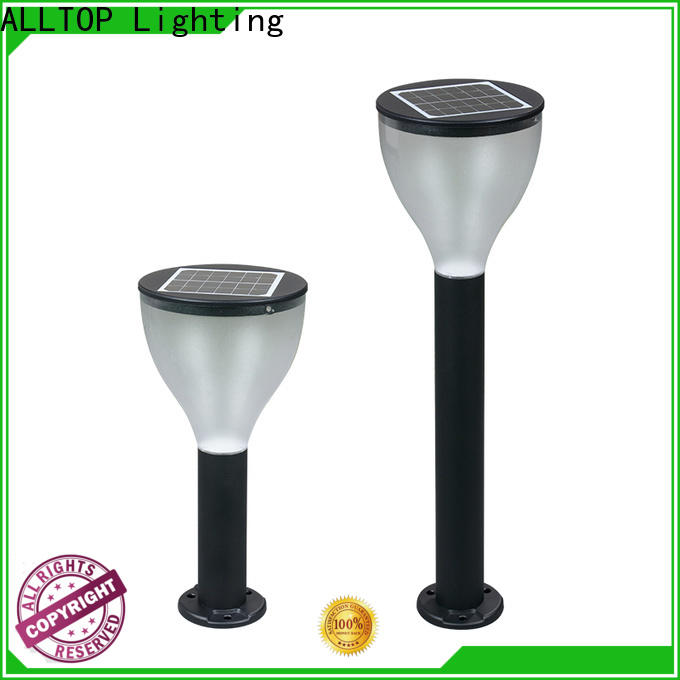 ALLTOP solar street light post