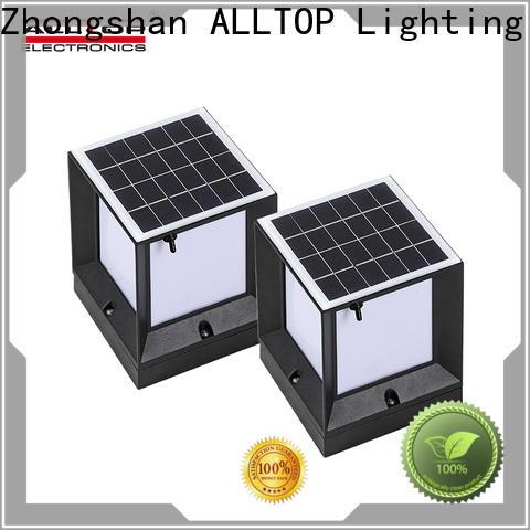 ALLTOP solar garden lamp post lights