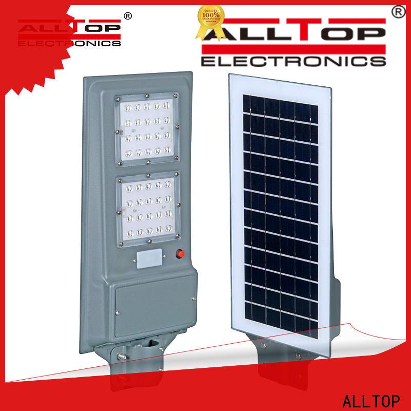 ALLTOP outdoor road solar light functional wholesale
