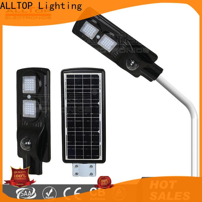 ALLTOP solar powered street lights functional manufacturer