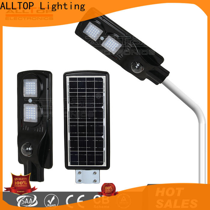 ALLTOP solar powered street lights functional manufacturer