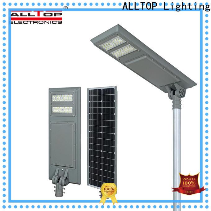 ALLTOP solar street light project best quality wholesale