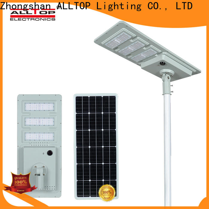 ALLTOP commercial solar powered street lights high-end wholesale