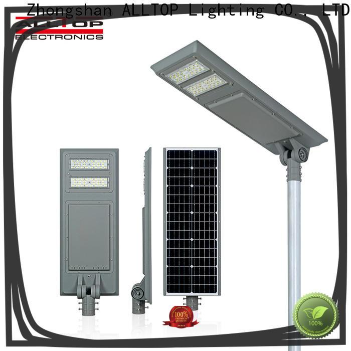 ALLTOP outdoor decorative solar street lights high-end supplier