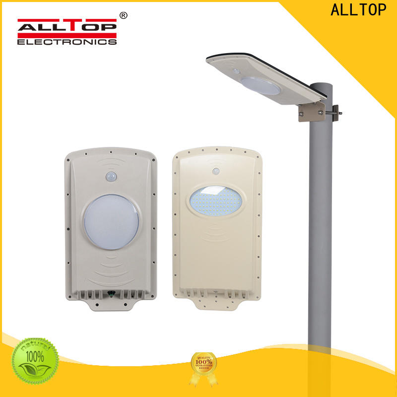 ALLTOP solar light street lamp with sensor with good price for highway