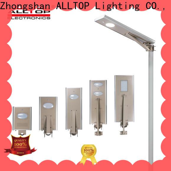 ALLTOP street lights solar power manufacturer for highway