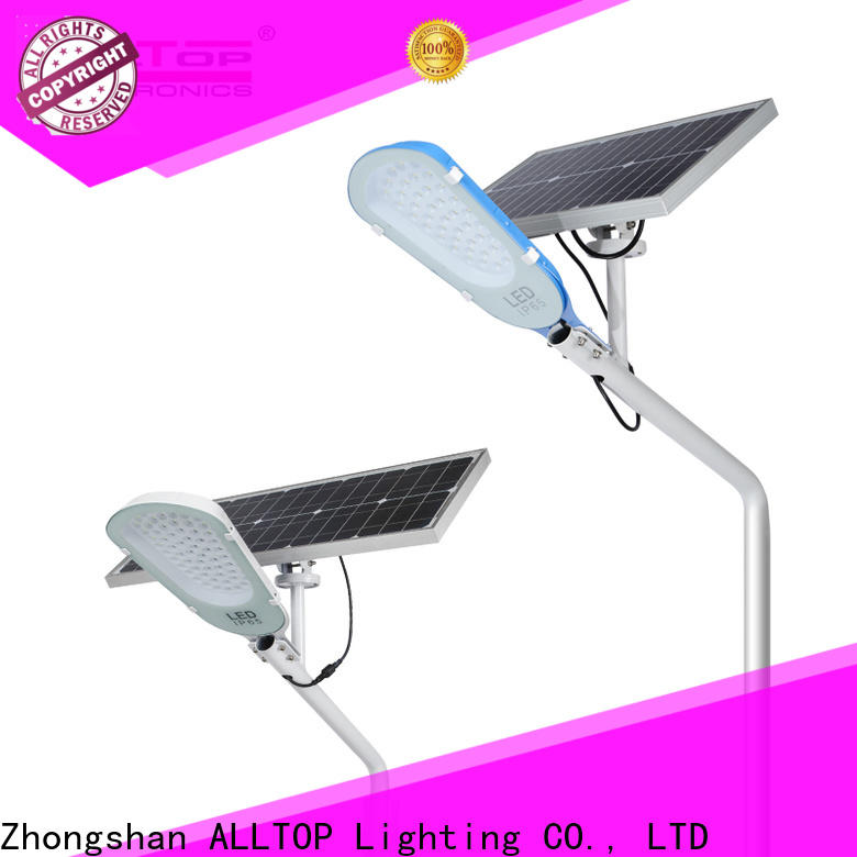ALLTOP factory price solar led street light directly sale for garden