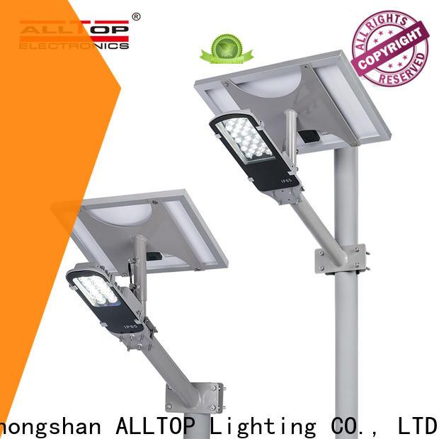 ALLTOP solar led street light series for outdoor yard
