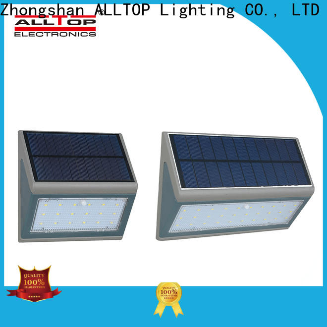 ALLTOP solar led wall lamp series for camping