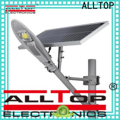 ALLTOP factory price 9w solar street light series for landscape