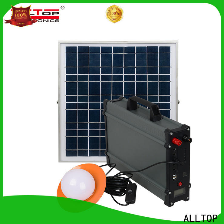 abs solar led lighting kit system factory direct supply indoor lighting