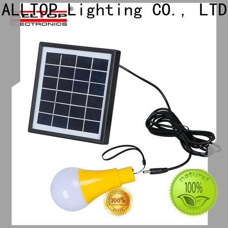ALLTOP solar powered outdoor wall lights manufacturer for garden