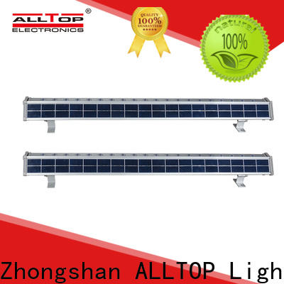 ALLTOP outdoor solar powered outdoor wall lights with good price for street lighting