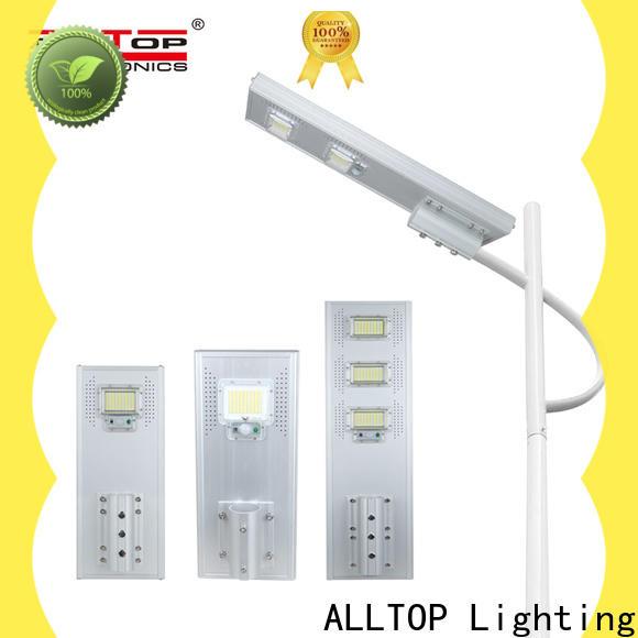 ALLTOP adjustable angle best solar street light wholesale for road