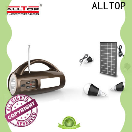 ALLTOP customized solar powered flood lights with good price for home