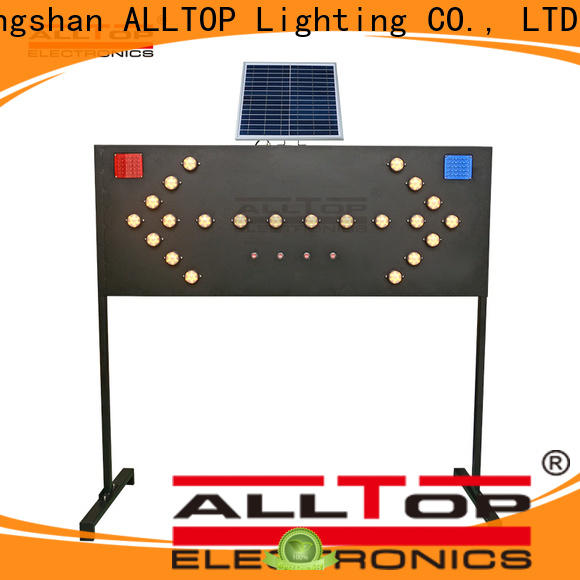 ALLTOP low price solar traffic light suppliers directly sale for factory