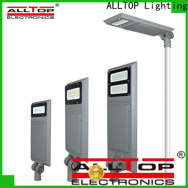 ALLTOP solar public lighting with good price for garden