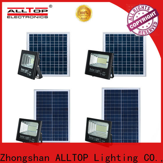 ALLTOP solar powered outdoor flood lights suppliers for stadium