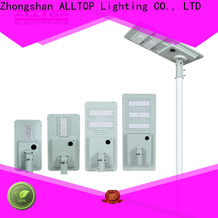 ALLTOP high-quality pole solar street light wholesale for highway