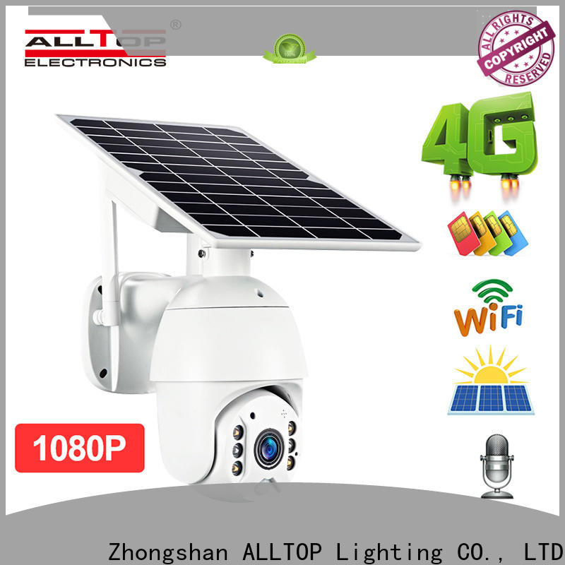 ALLTOP 4g solar security camera