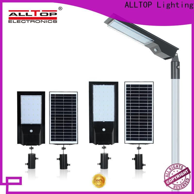 ALLTOP 9w solar street light factory for garden