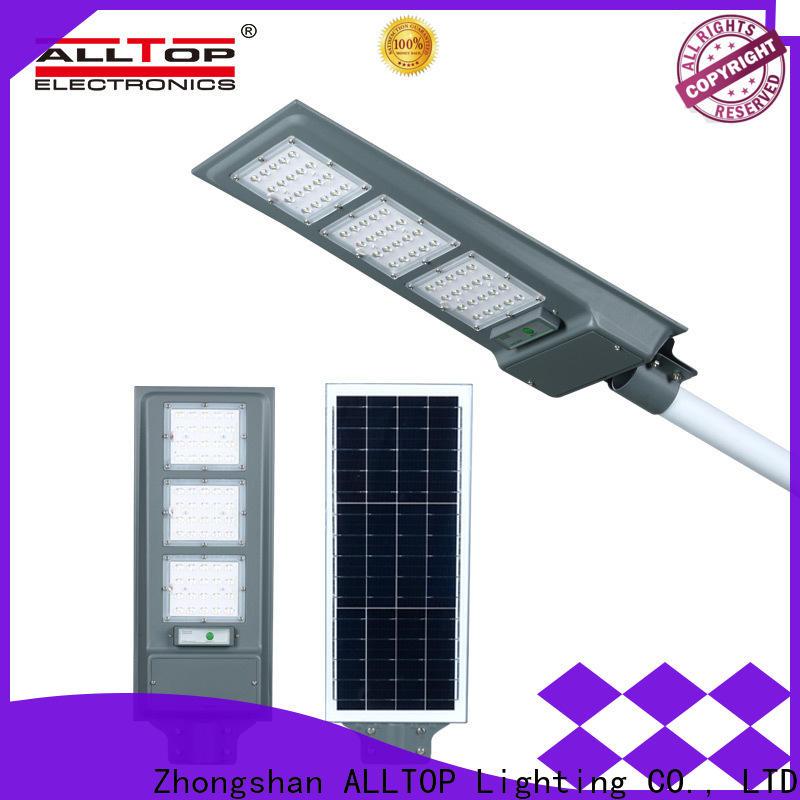 ALLTOP waterproof led solar street lamp functional manufacturer