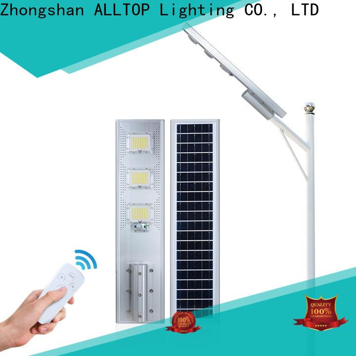 ALLTOP outdoor solar street lamps best quality manufacturer