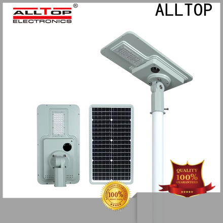 ALLTOP solar powered parking lot lights best quality wholesale