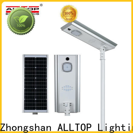 waterproof solar powered street lights functional supplier