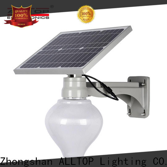 ALLTOP top selling solar street lamp series for landscape