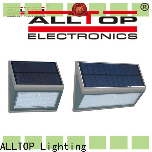 ALLTOP energy-saving solar powered motion sensor wall light series for camping