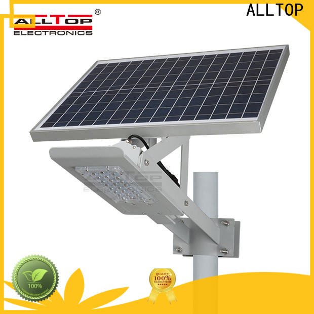 ALLTOP solar led street light series for lamp