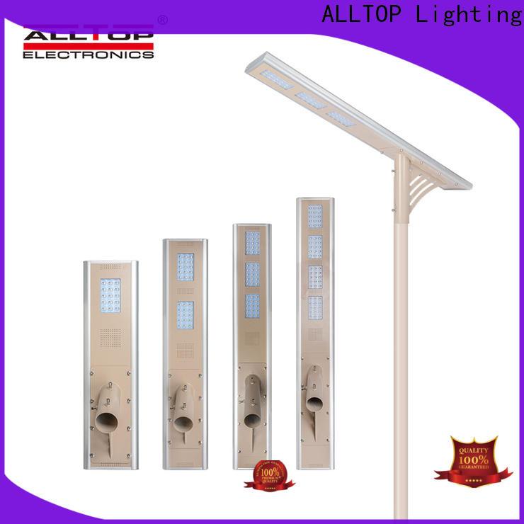 ALLTOP adjustable solar street lamps for garden supplier for road