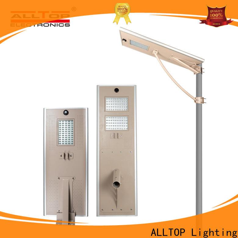 ALLTOP street lighting fixtures manufacturer for garden
