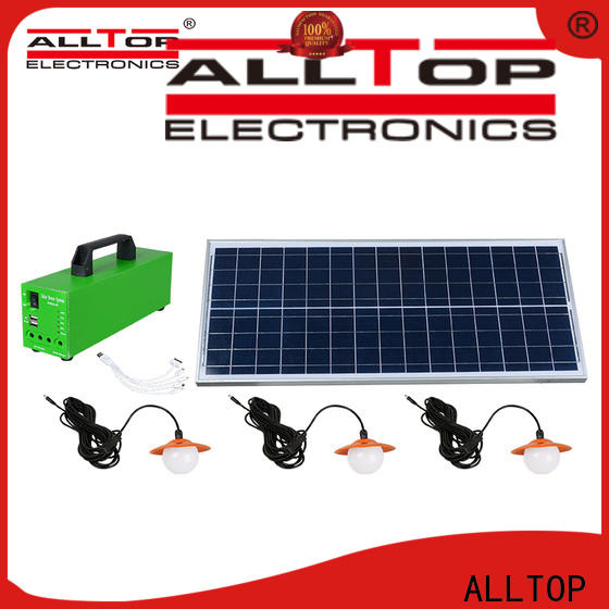 ALLTOP abs solar power system manufacturers in china factory direct supply for battery backup