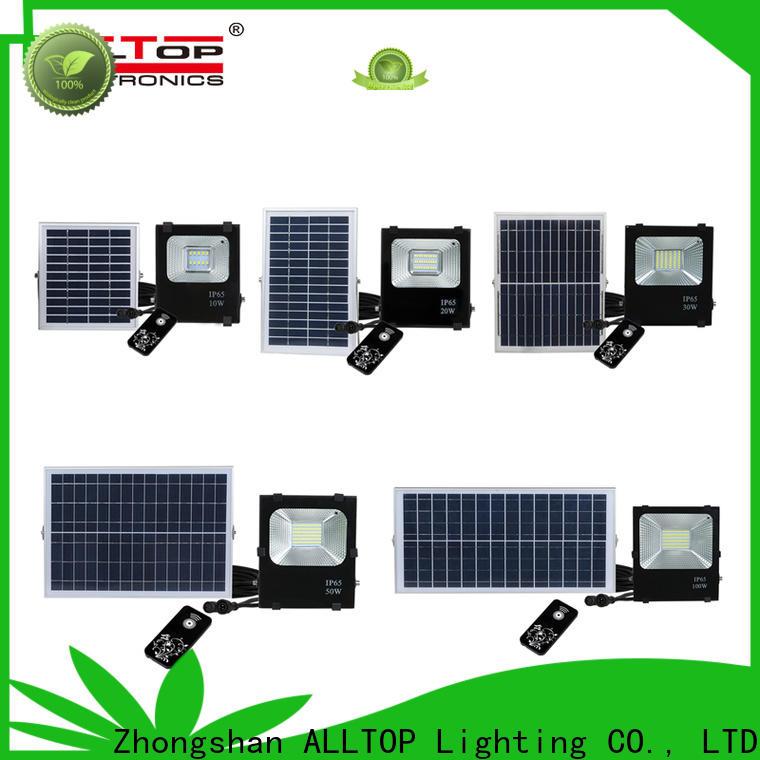 portable solar garden flood lights factory for stadium