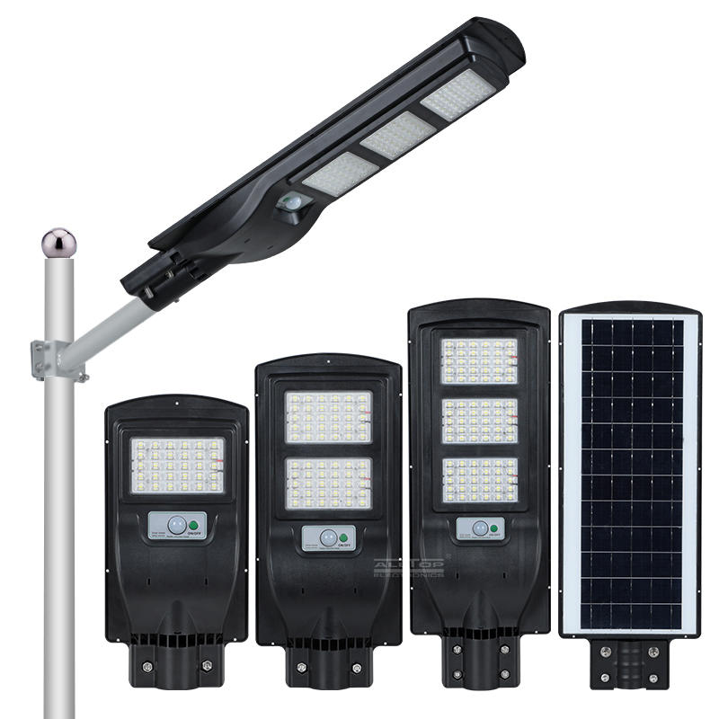 ALLTOP High lumen outdoor waterproof IP65 30w 60w 90w all-in-one led solar street light